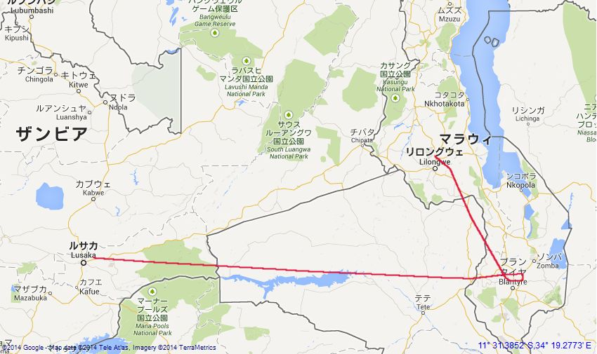 zambia_malawi_map