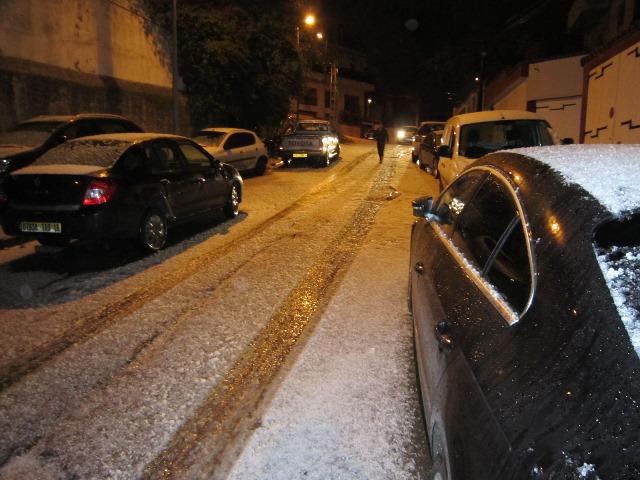 neige algier