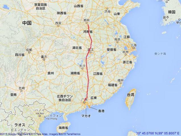 guangzhou-route